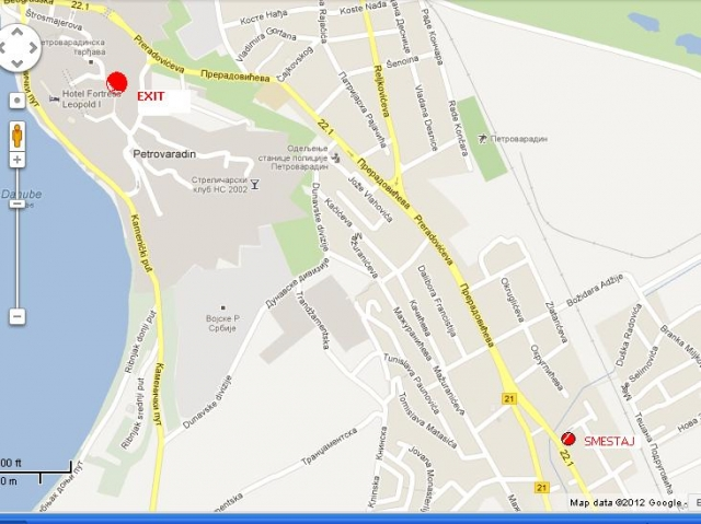 petrovaradin mapa Novi Sad, Petrovaradin, Flat, Accommodation, 40 m2, 20 €   IZDAJEM  petrovaradin mapa