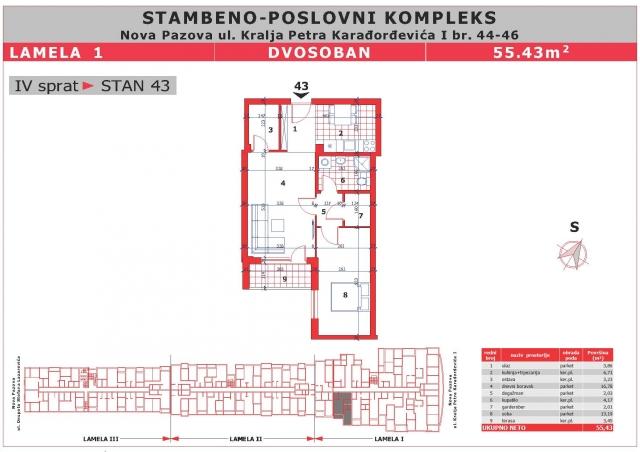 kralja petra 55 beograd mapa Nova Pazova, Stan, Prodaja, Dogovor   Prezident Nova Pazova  kralja petra 55 beograd mapa