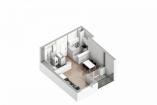 Beograd Palilula 47,500€ Flat Sale