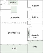 Beograd Novi Beograd 88.500€ Stan Prodaja