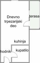 Beograd Novi Beograd 34.800€ Stan Prodaja