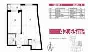 Novi Sad Centar 65,900€ Flat Sale