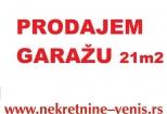 Novi Sad Nova detelinara 21.630€ Garaža Prodaja